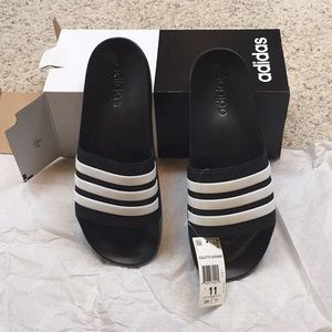 NEW men's size 11 adidas adilette shower sandals.